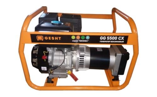 Бензогенератор Gesht GG5500CX с гарантией