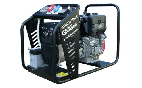 Сварочный электрогенератор GMGen GMSD170LE с гарантией