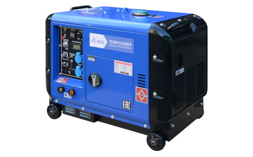 Сварочный генератор ТСС DGW 6.0/250ES-R от ЭлекТрейд