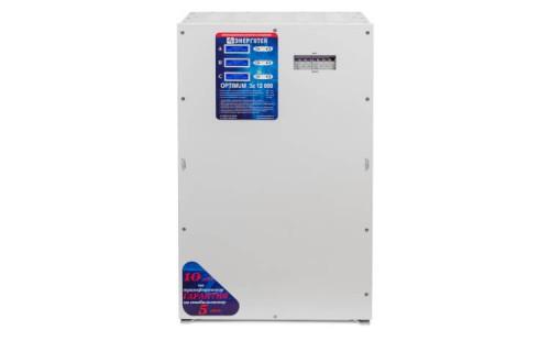 Стабилизатор Энерготех OPTIMUM+ 12000х3 с гарантией
